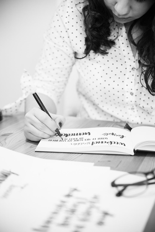 Kristin Klasinski: Lettering Artist | we love handmade