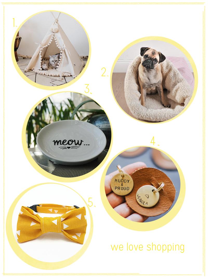 we love shopping: Haustier-Accessoires