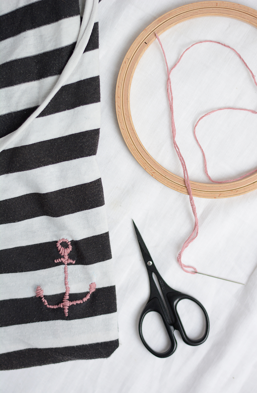 Anker-T-Shirt: DIY | we love handmade