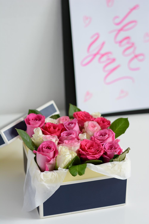 Blumenbox zum Valentinstag | we love handmade