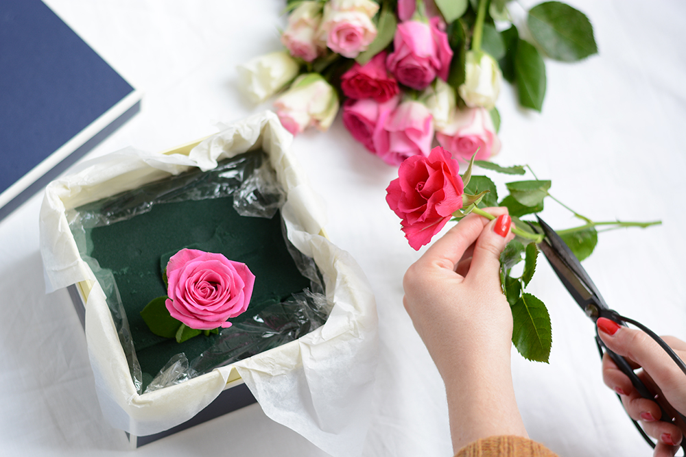 Blumenbox: Valentinstags-DIY | we love handmade