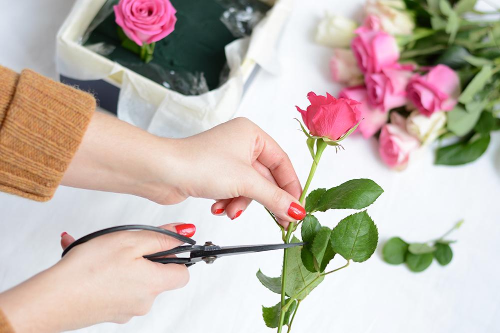 Blumenbox selber machen | we love handmade