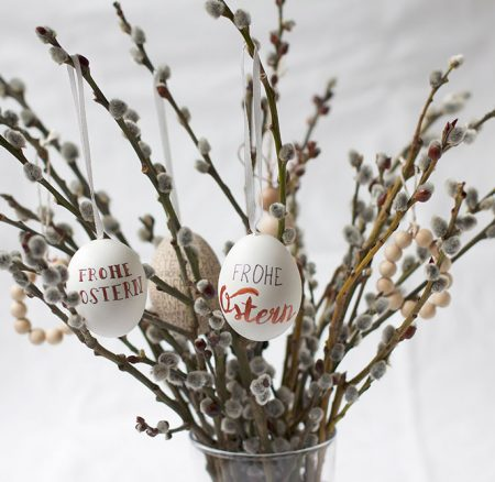 DIY: Ostereier beschriften