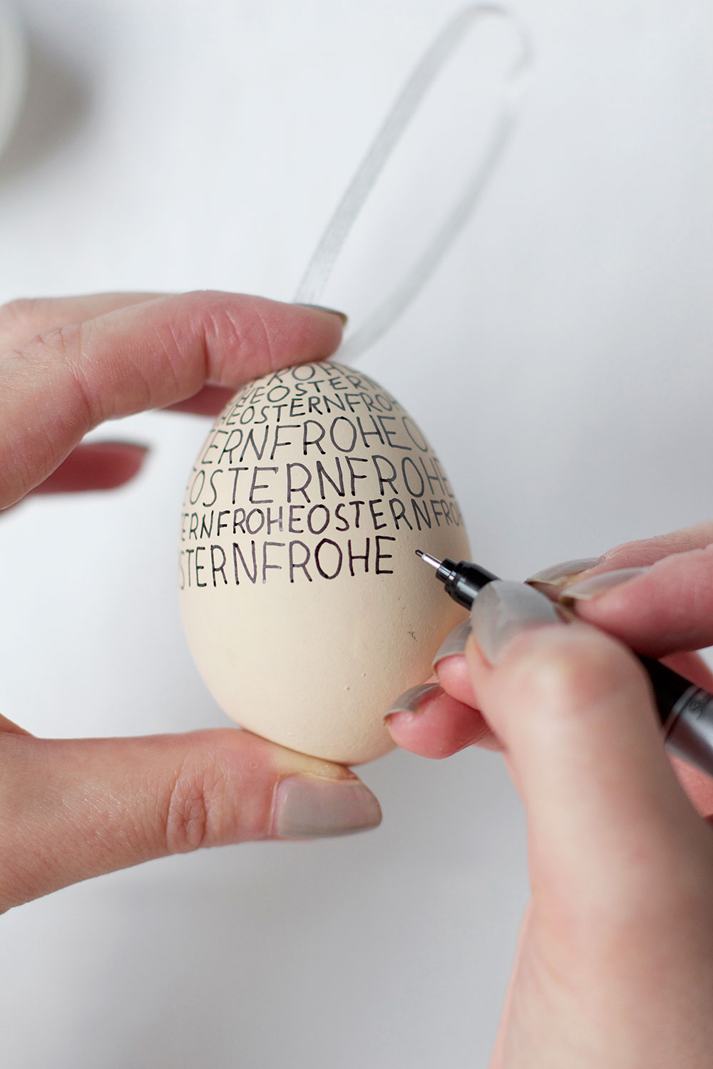 DIY: Handlettering Eier | we love handmade