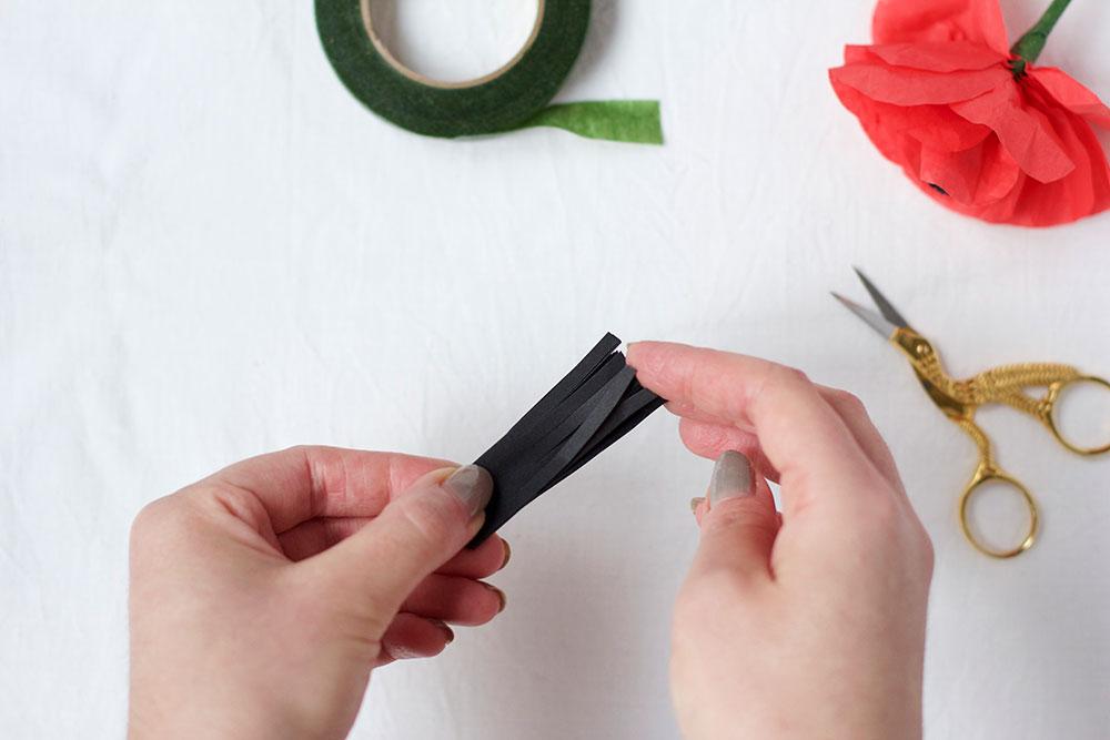 Mohnblume: Blumenstempel | we love handmade