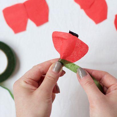 DIY: Mohn-Papierblumen   we love handmade