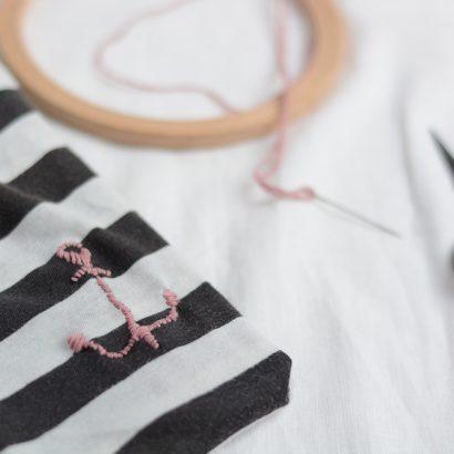 T-Shirt: Anker sticken | we love handmade