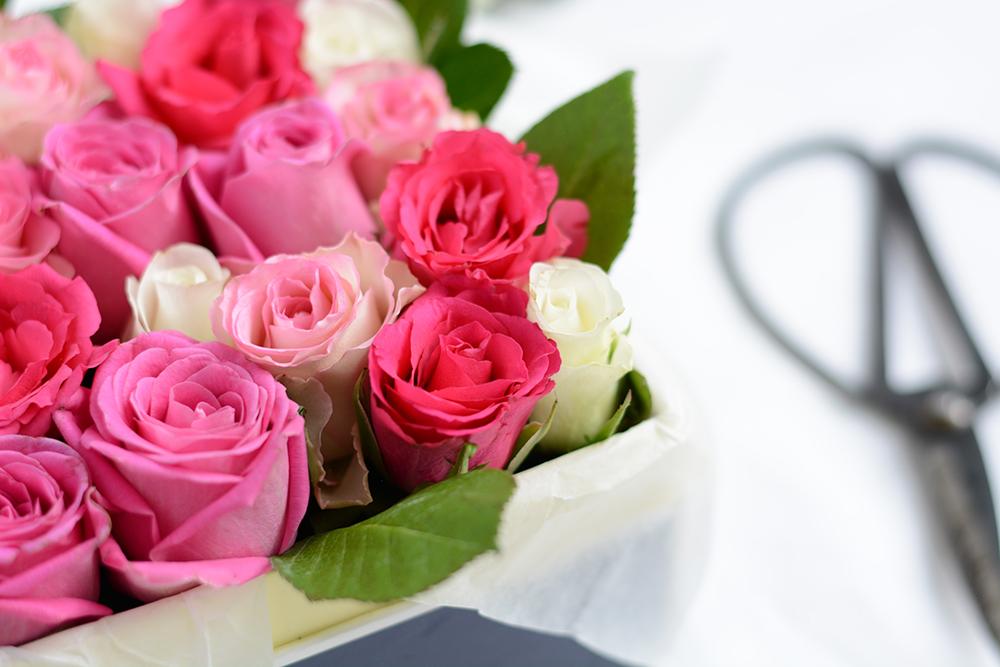 Valentinstag: Blumenbox | we love handmade