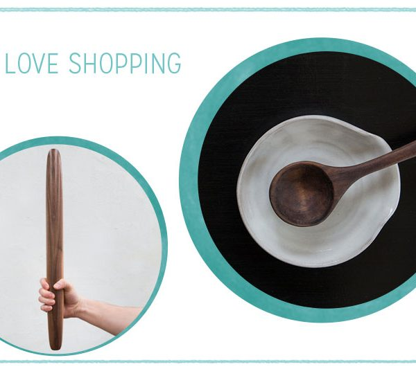 we love Shopping: Küchenutensilien aus Holz