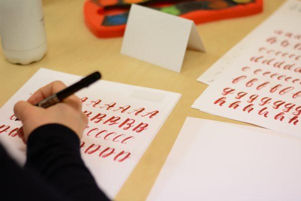 Brush Lettering DIY-Workshop | we love handmade