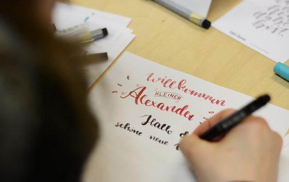 Brush Lettering Workshop Wien   we love handmade