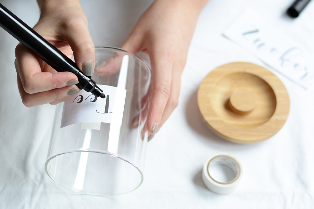 Vorratsgläser beschriften: DIY | we love handmade