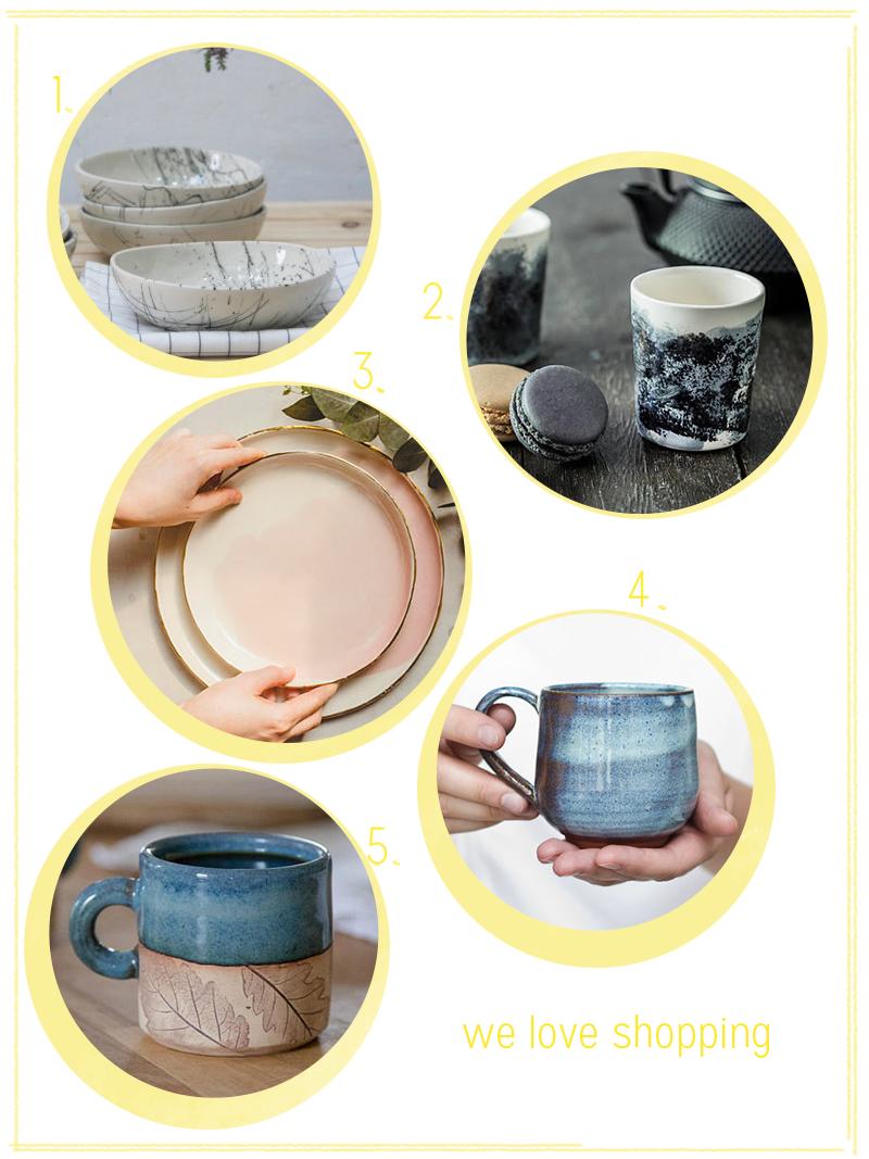 we love shopping: handgemachte Keramik | we love handmade