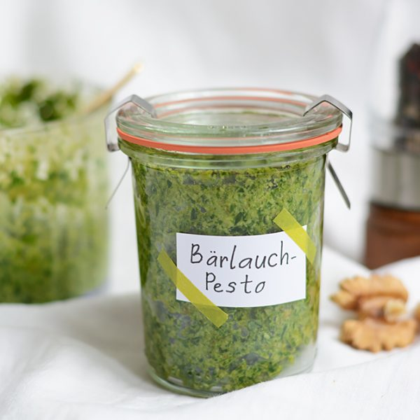 Bärlauchpesto | we love handmade