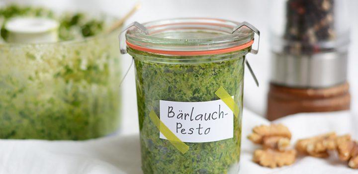 Food: Bärlauchpesto