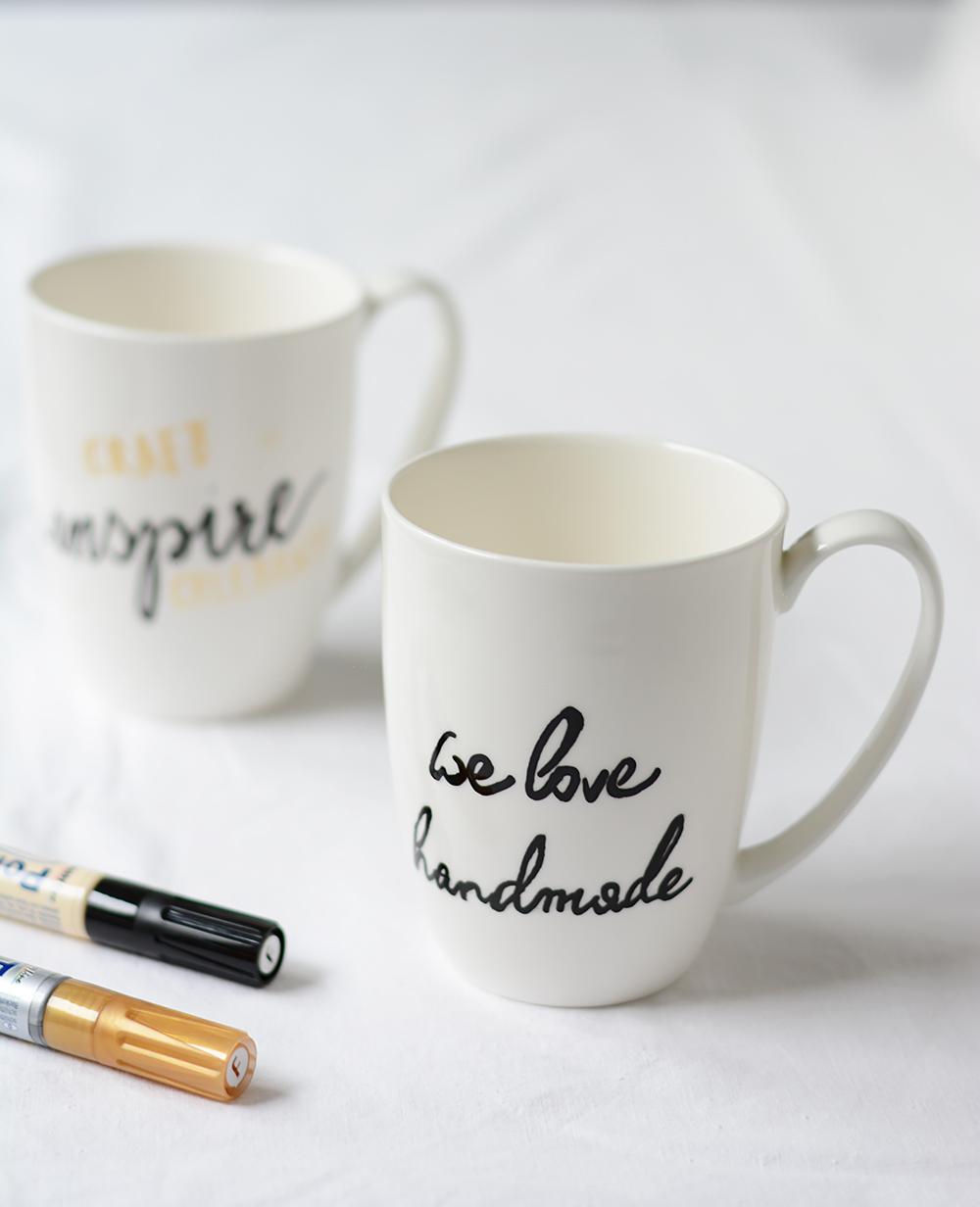 DIY: Tassen-beschriften | we love handmade