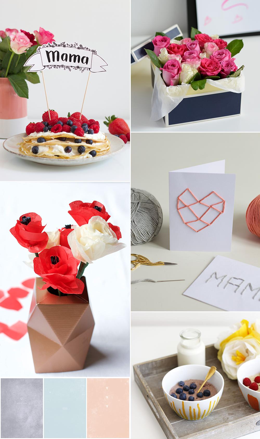 Geschenkideen zum Muttertag | we love handmade
