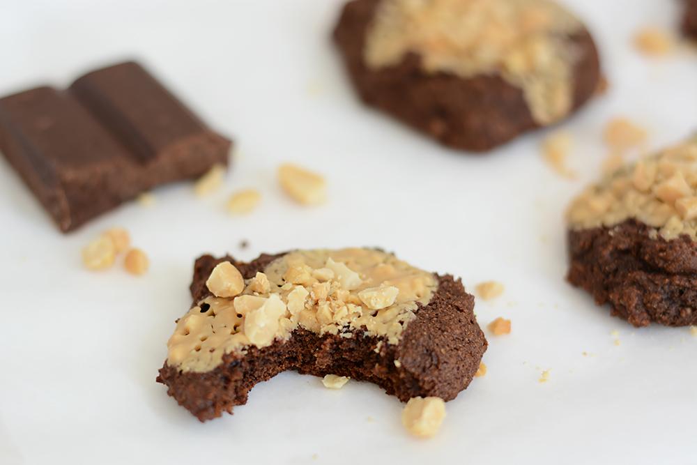 Schoko-Cookies mit Erdnussbutter | we love handmade