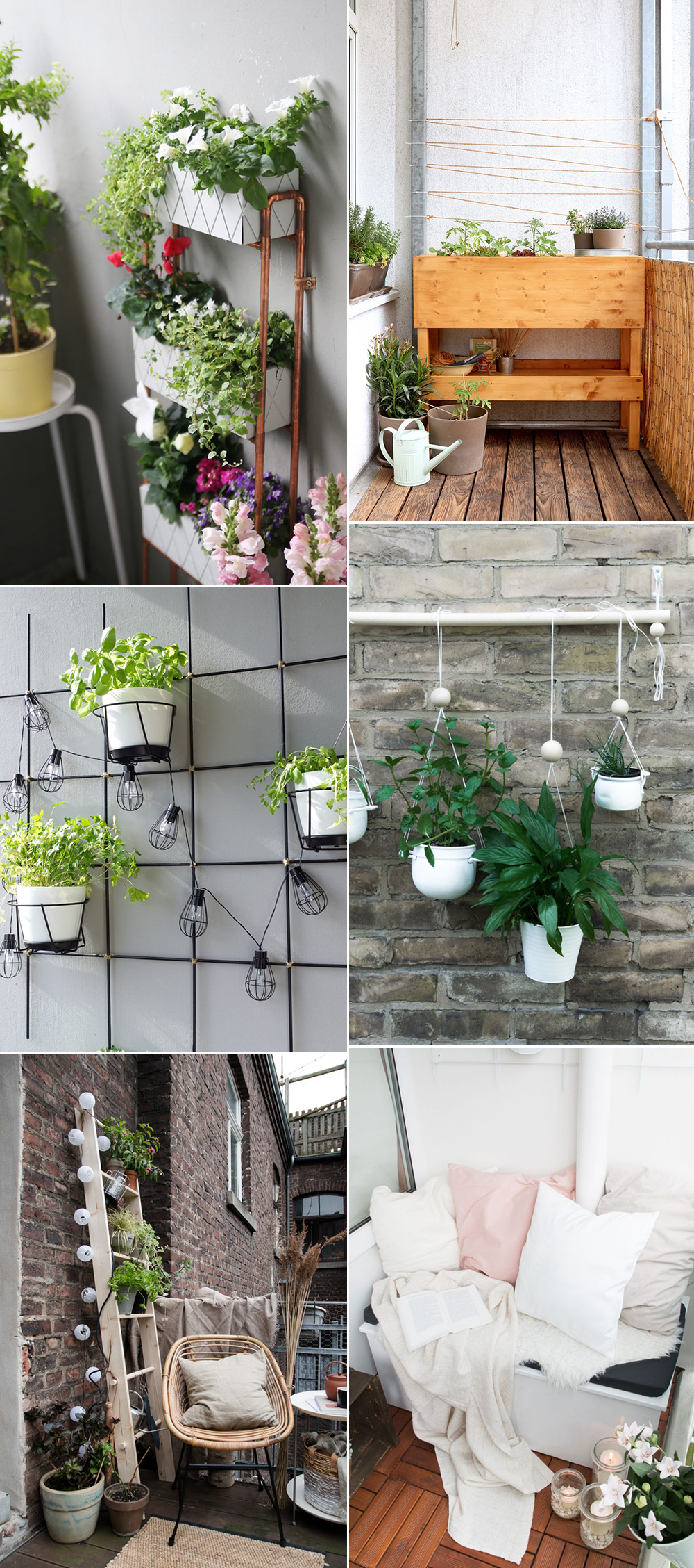 we love inspiration: diy-ideen für den balkongarten - we love handmade