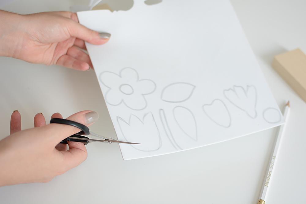 Blumen-Stempel ausschneiden | we love handmade