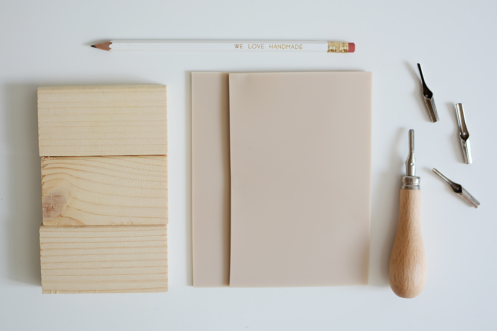 Kakteen-Stempel-DIY: Material | we love handmade