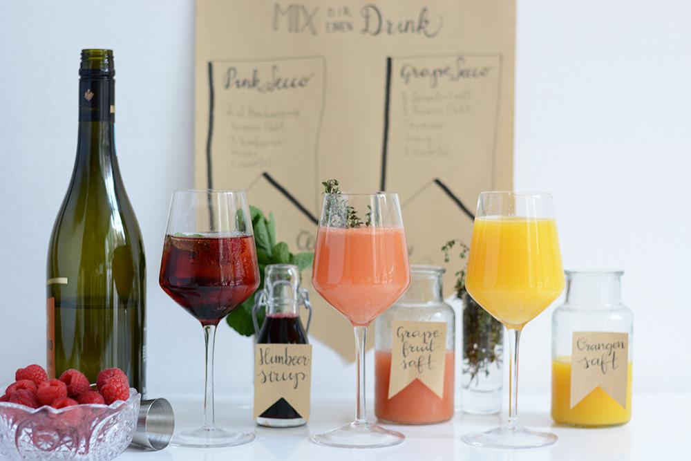 Mimosa-Bar: Drink-Rezepte | we love handmade