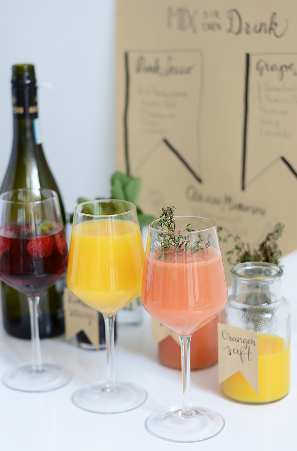 Mimosa-Bar: Inspiration | we love handmade