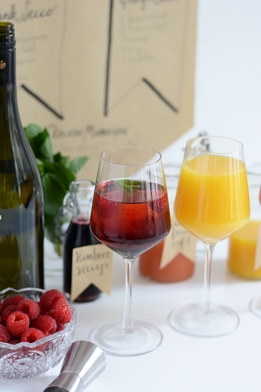 Mimosa Party Bar | we love handmade