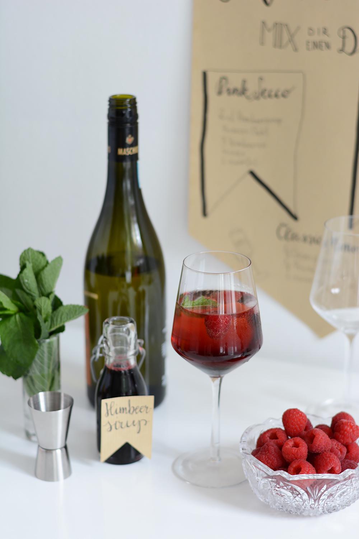 Pink-Secco: Rezept | we love handmade