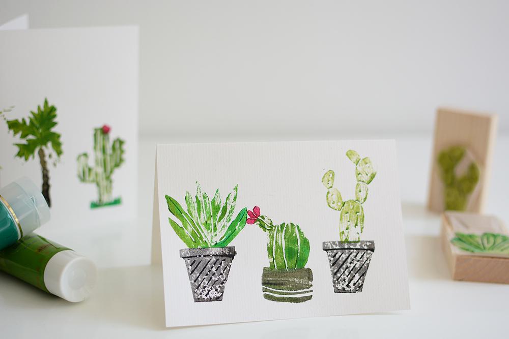 Sukkulenten-Karten: DIY | we love handmade