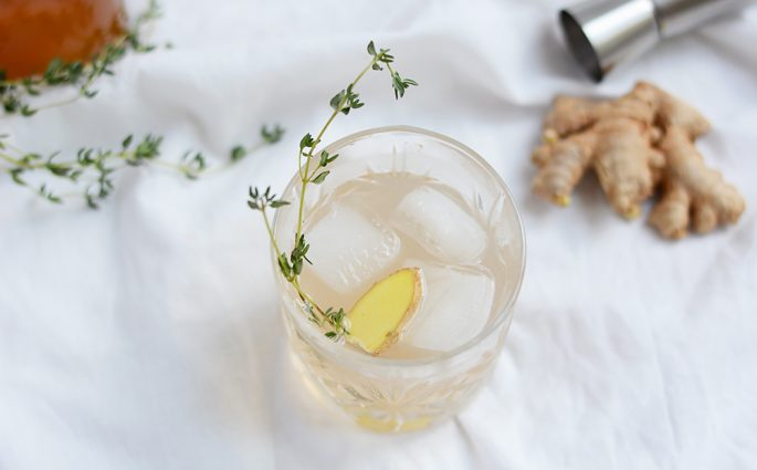Kokos-Ingwer-Fizz: Cocktail | we love handmade