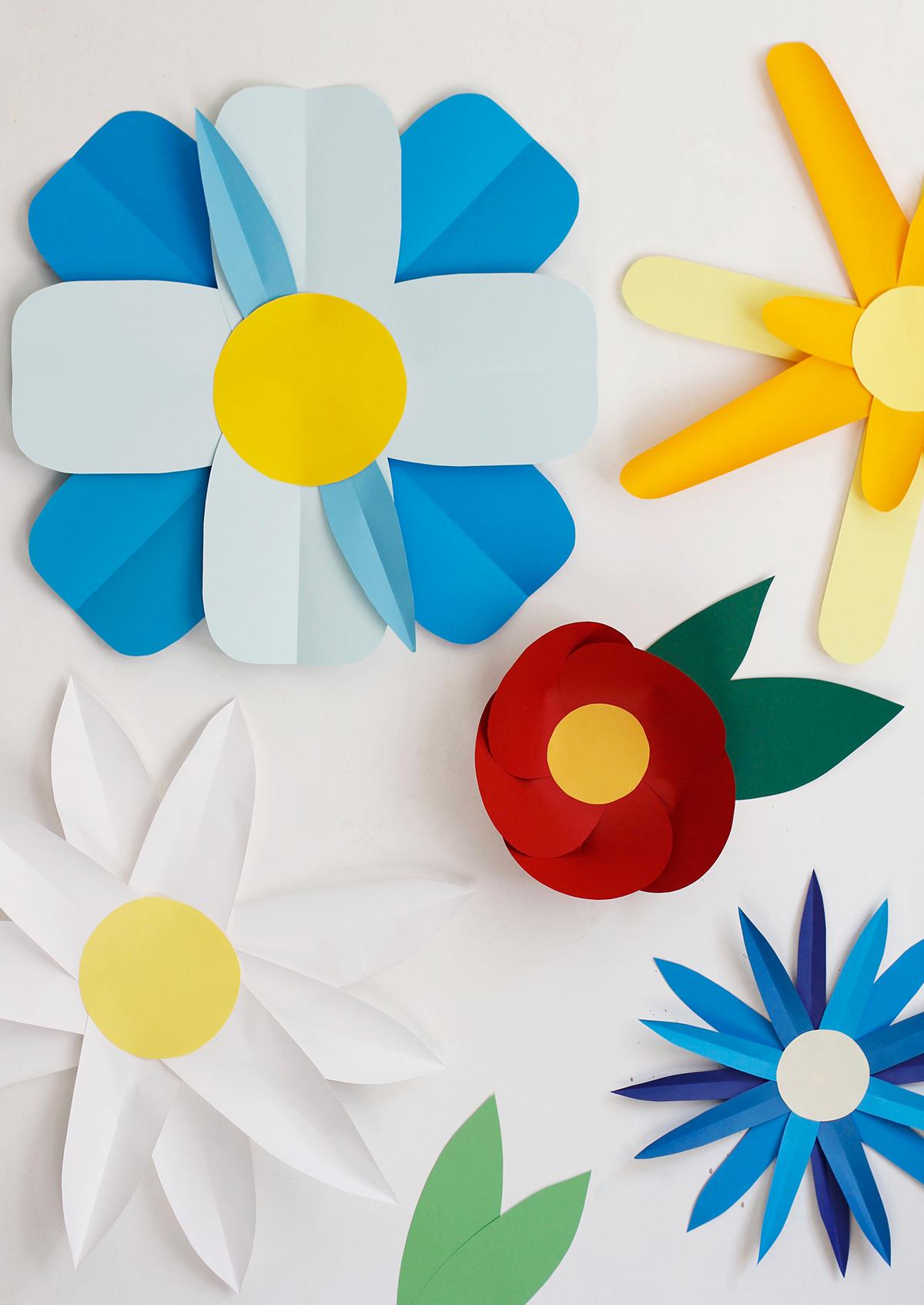 Photo-Booth-Papierblumen | we love handmade