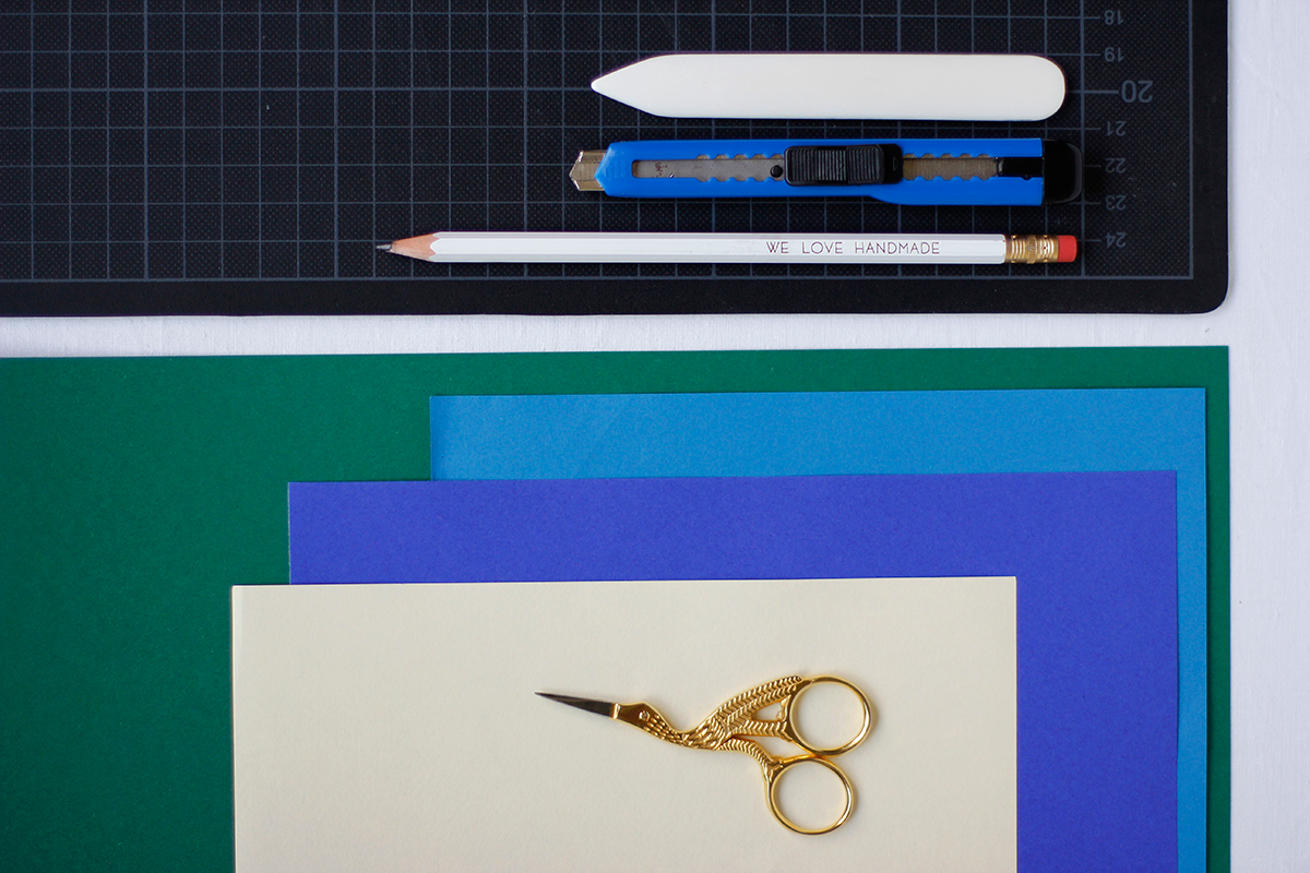 Photo Booth Papierblumen - Material |we love handmade