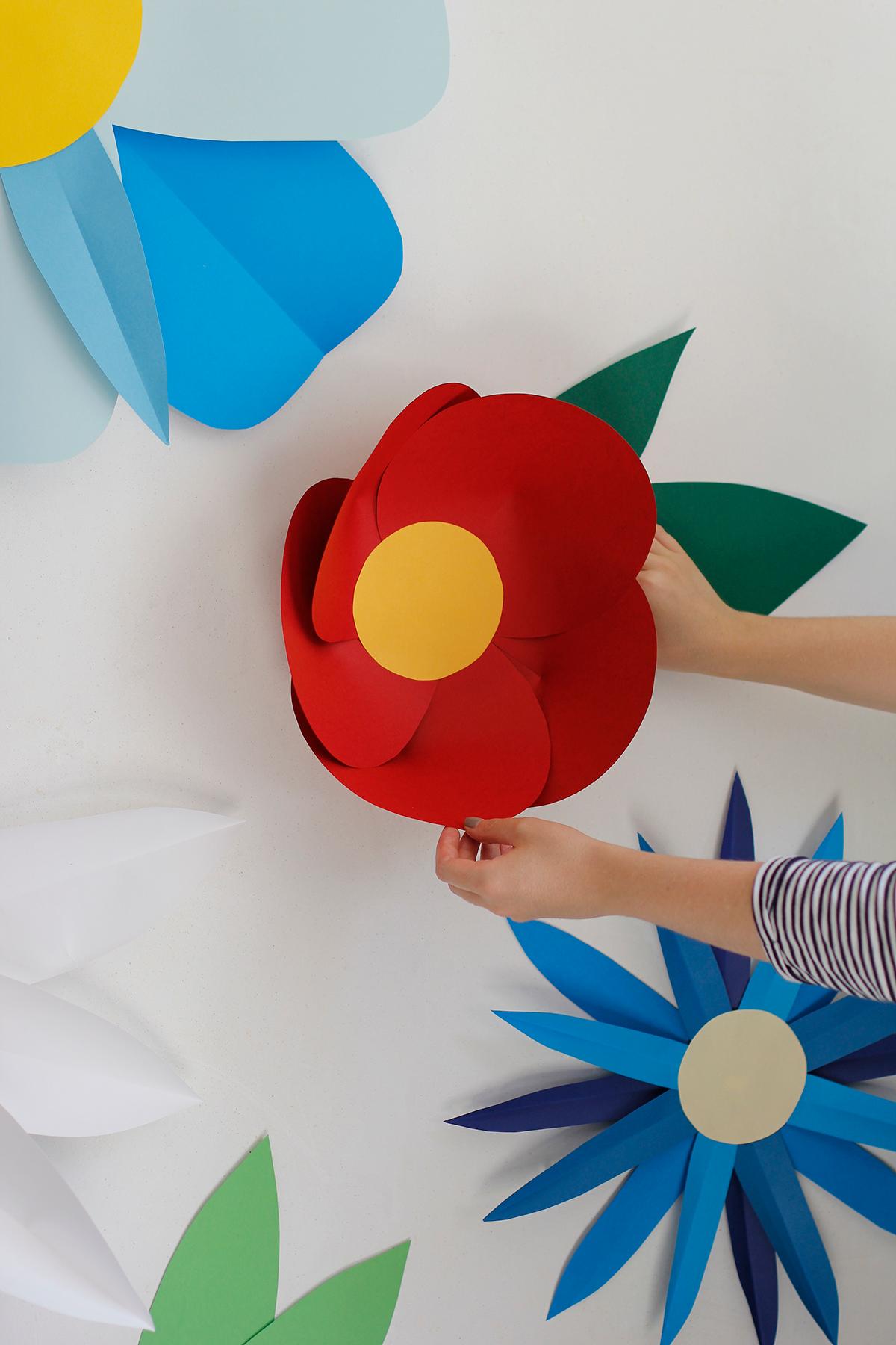 Photo Booth: Papierblumen | we love handmade