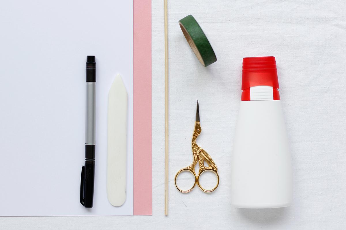 Tulpeneinladung: Material | we love handmade