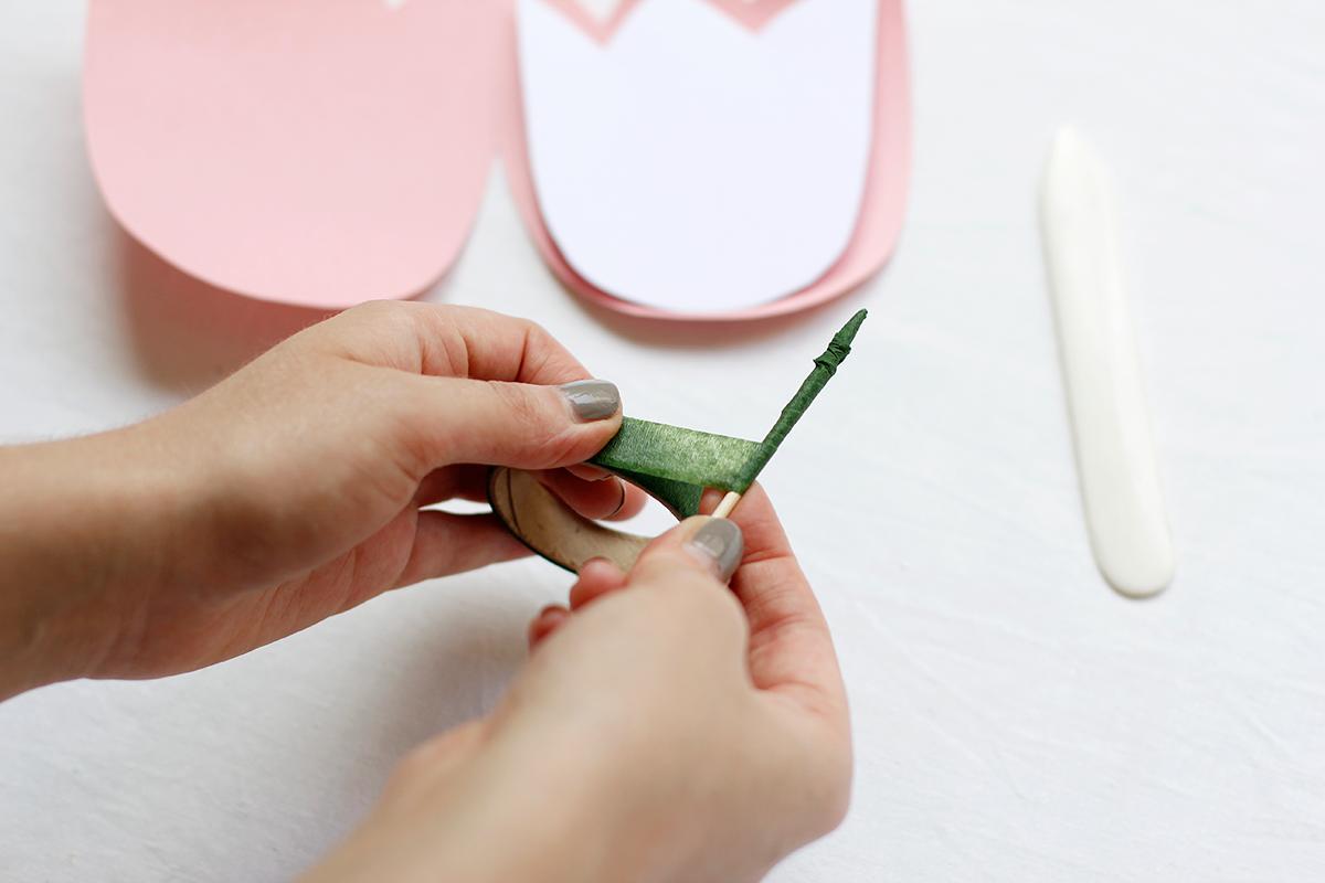 Tulpeneinladung selber machen |we love handmade