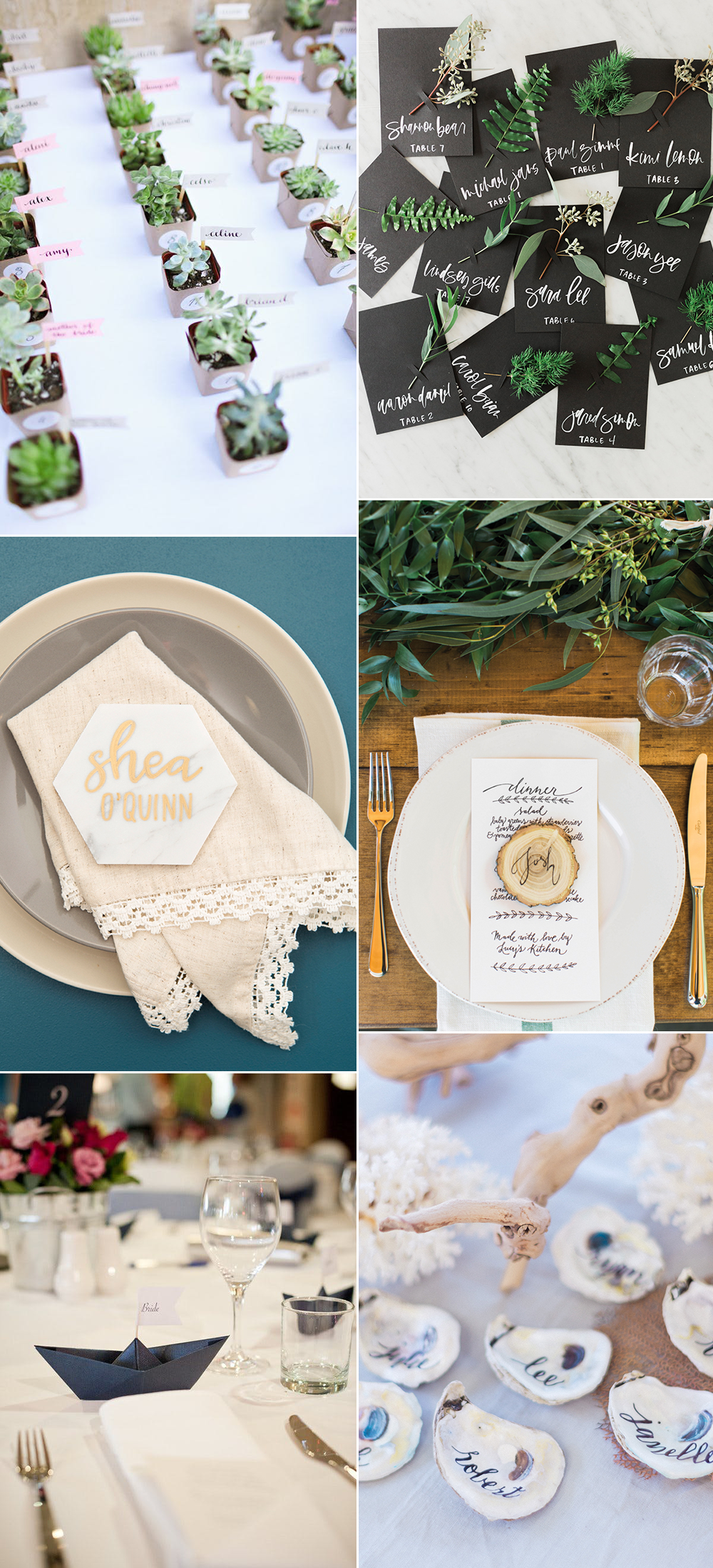 we love Wedding: Place Cards | we love handmade