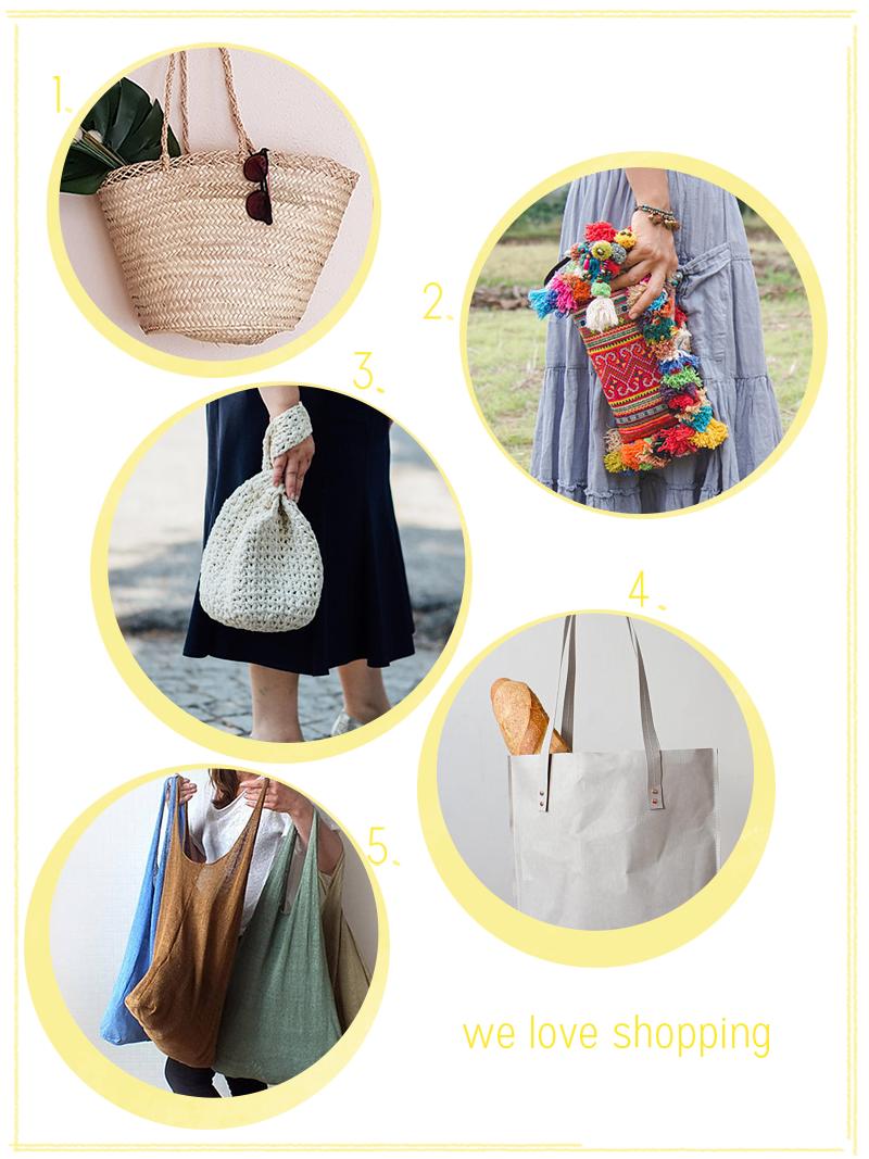 we love Shopping: Trendtaschen für den Sommer