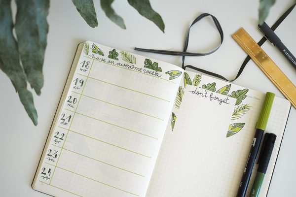 Bullet Journaling Inspiration | we love handmade