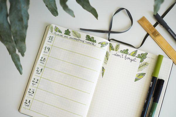 Bullet Journaling Inspiration |we love handmade