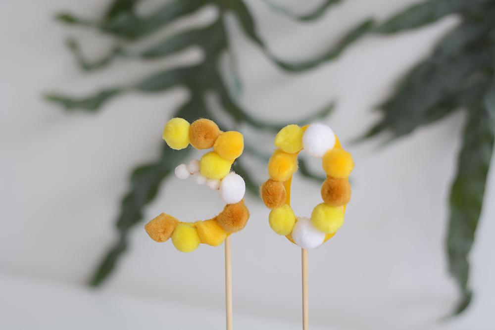 Geburtstags-Topper: Zahlen | we love handmade