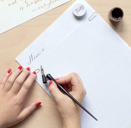 News: Unsere Kalligraphie-Kits für zu Hause sind da!
