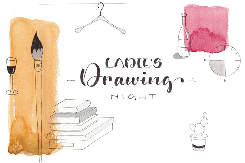 Ladies Drawing Night | Fräuelein Fischer