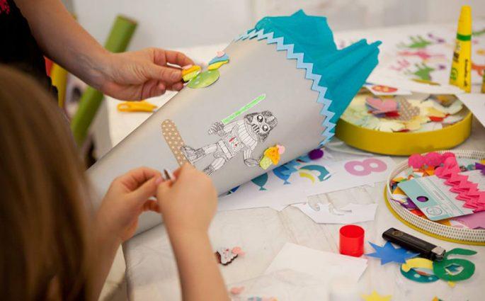 Schultüten-Workshop |Die Buntique