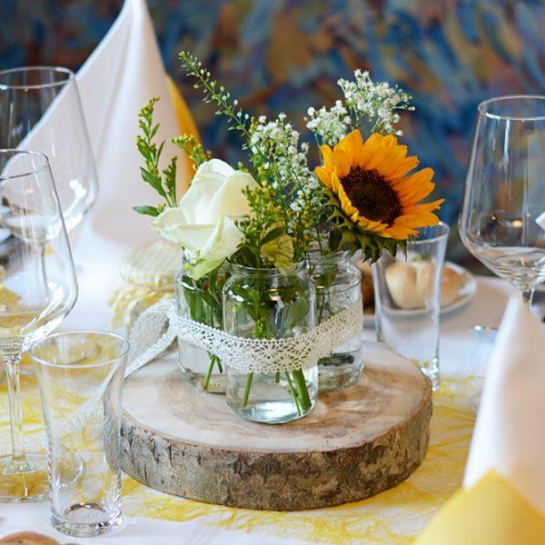 Tischdeko-Wedding   we love handmade