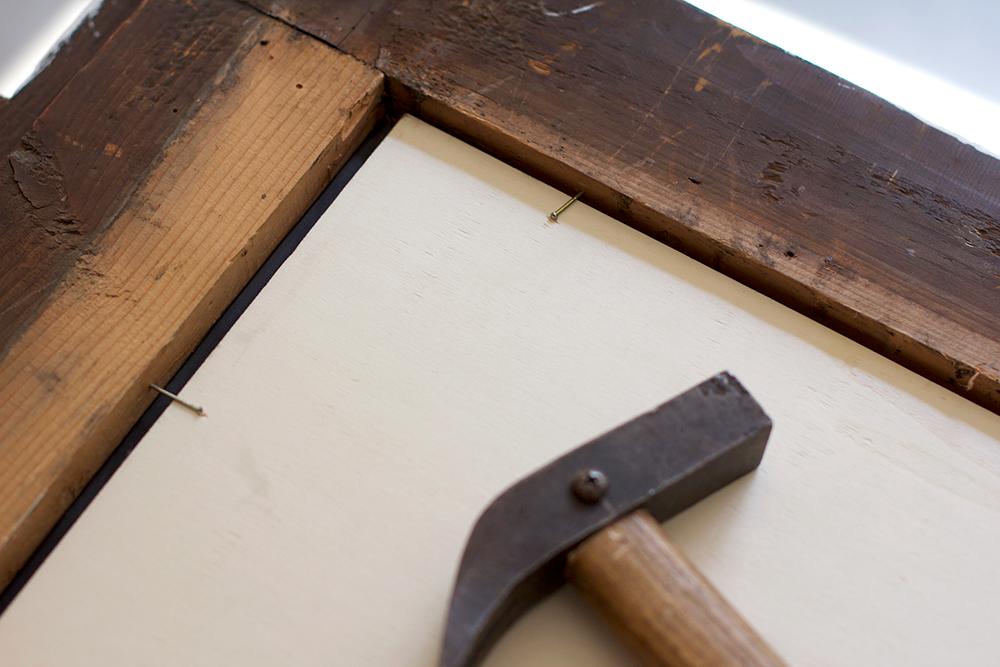 DIY: Schreib- und Magnettafel | we love handmade