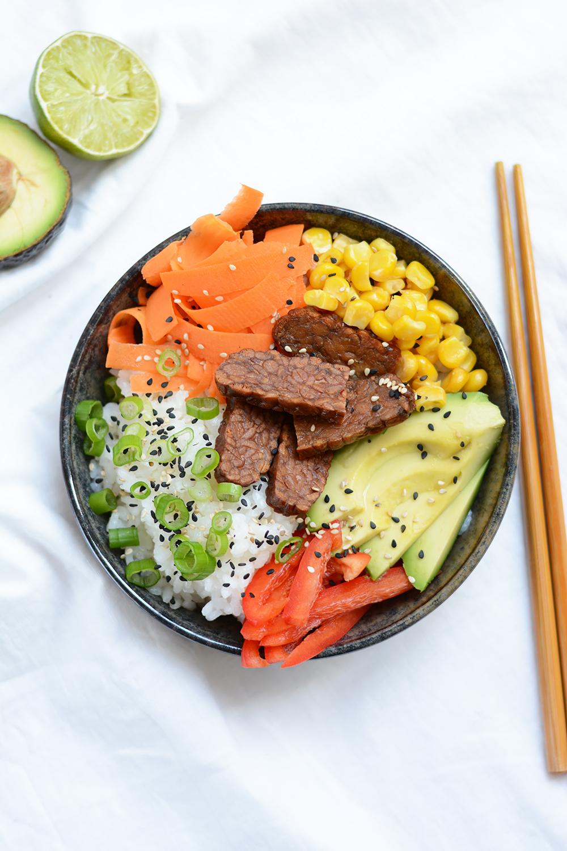 Rezept: vegane Poke Bowl | we love handmade