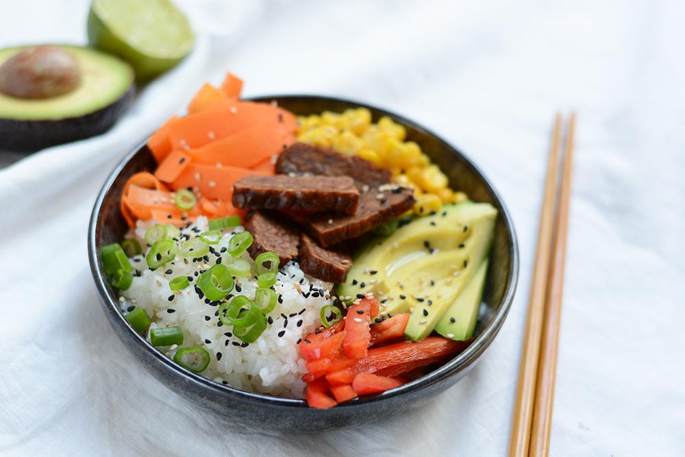 Vegane Poke Bowl: Rezept | we love handmade