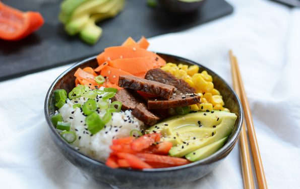 Vegane Poke Bowl | we love handmade