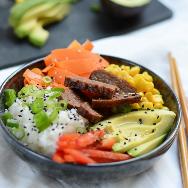 Vegane Poke Bowl | we love handmade